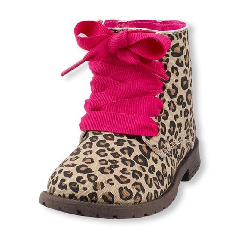 Ботинки крутые стильные модные леопард