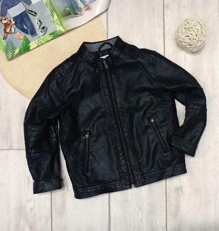 Куртка из эко - кожи h&m