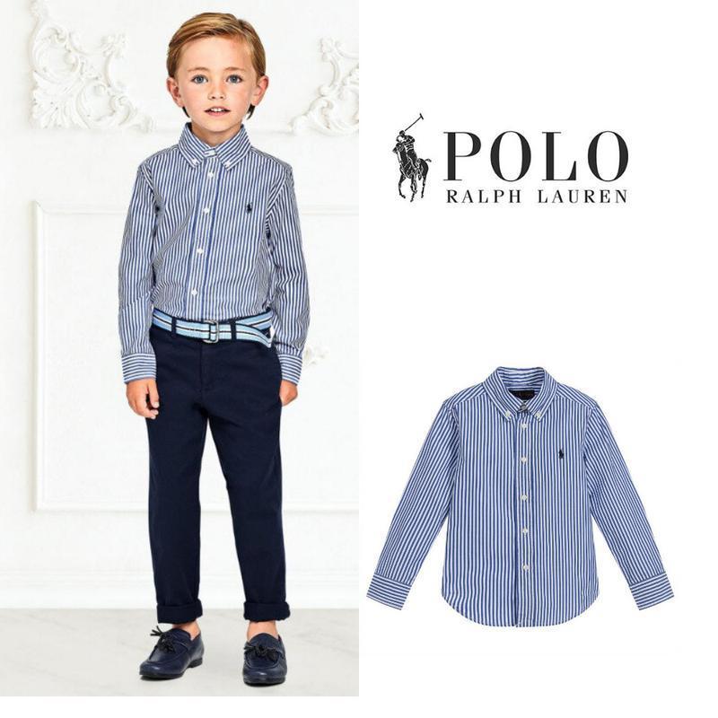 Современная рубашка для мальчика 10-12 лет от  ralph lauren ор...
