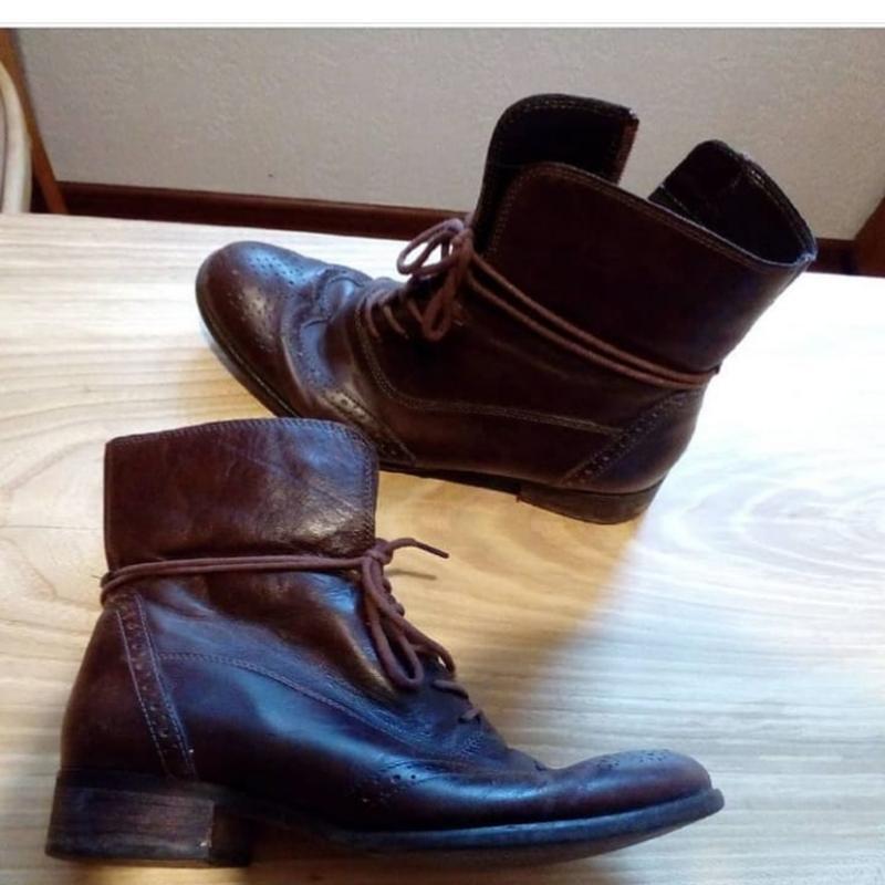 Ботинки кожа легкие  gabor