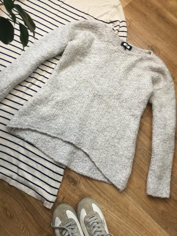 Шерстяний брендовий светр-«тедді»