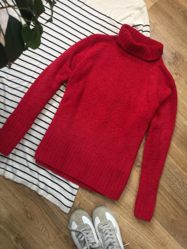 Махровий теплий зимовий светр