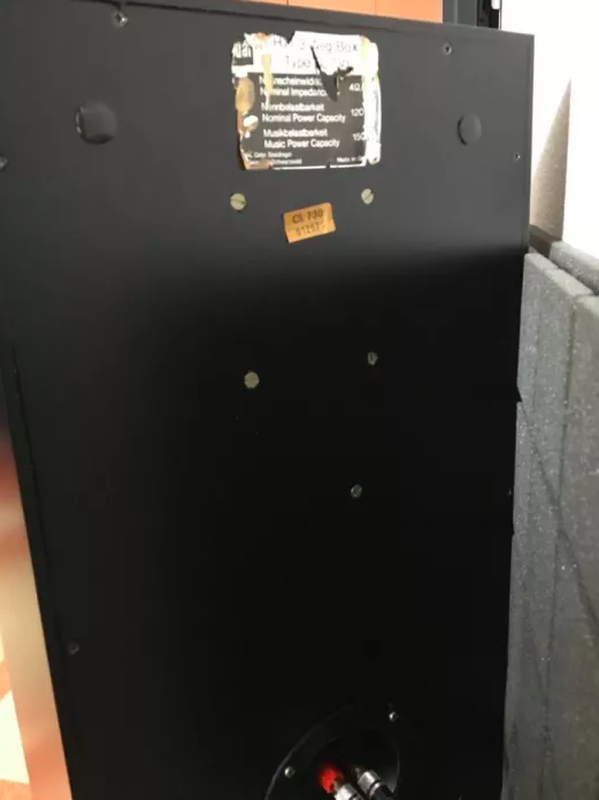 Акустическая система Dual CL 730 с грилями и стойками - Фото 6