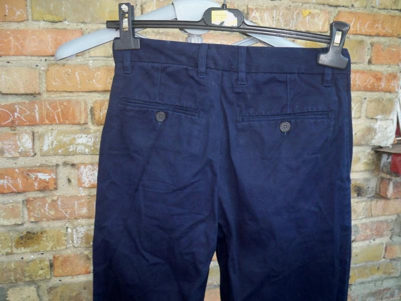 Фірмові базові брюки gap kids, 12, бангладеш. - Фото 4