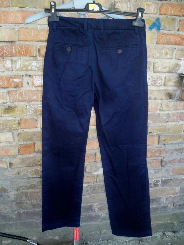 Фірмові базові брюки gap kids, 12, бангладеш. - Фото 5