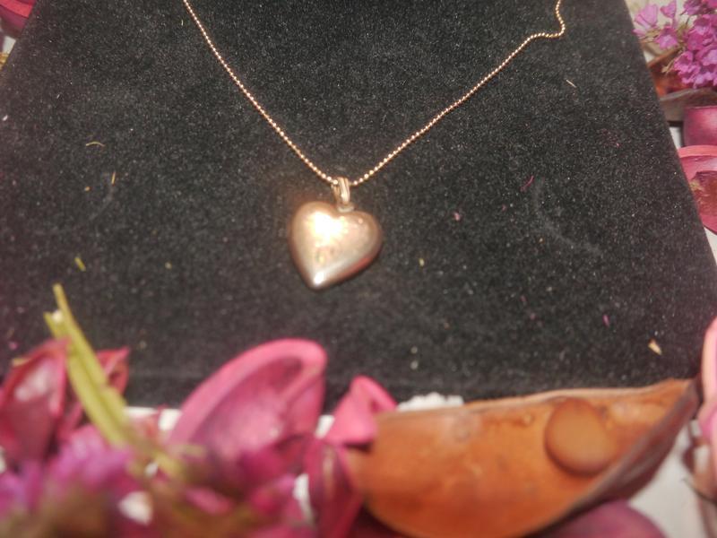 """Винтажный фото кулон """"сердце"""" + подарок"""