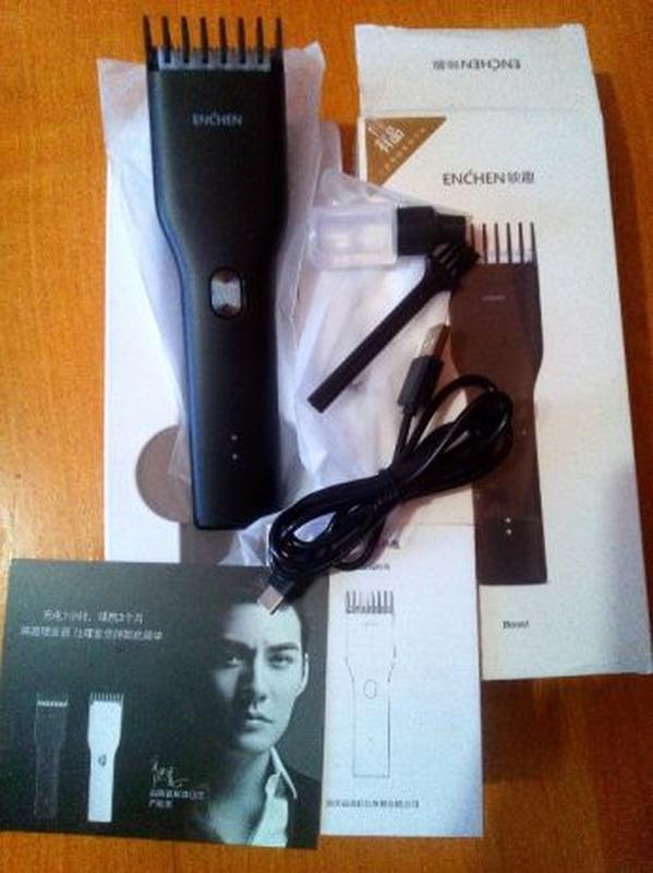 Машинка для стрижки волос Xiaomi ENCHEN Boost USB - Фото 8