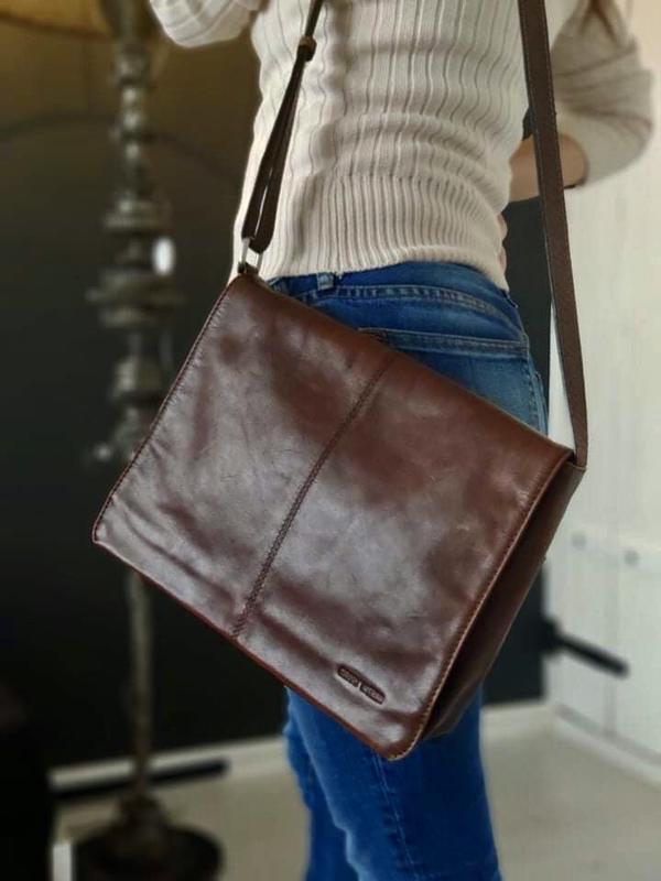 Gerry webber 100% оригинальная кожаная сумка.
