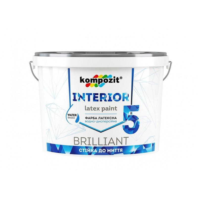 Інтер'єрна фарба для стін і стель INTERIOR 5