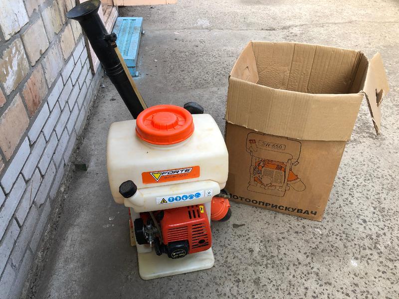 Опрыскиватель бензиновый Forte 3W-650 (мотоопрыскиватель)