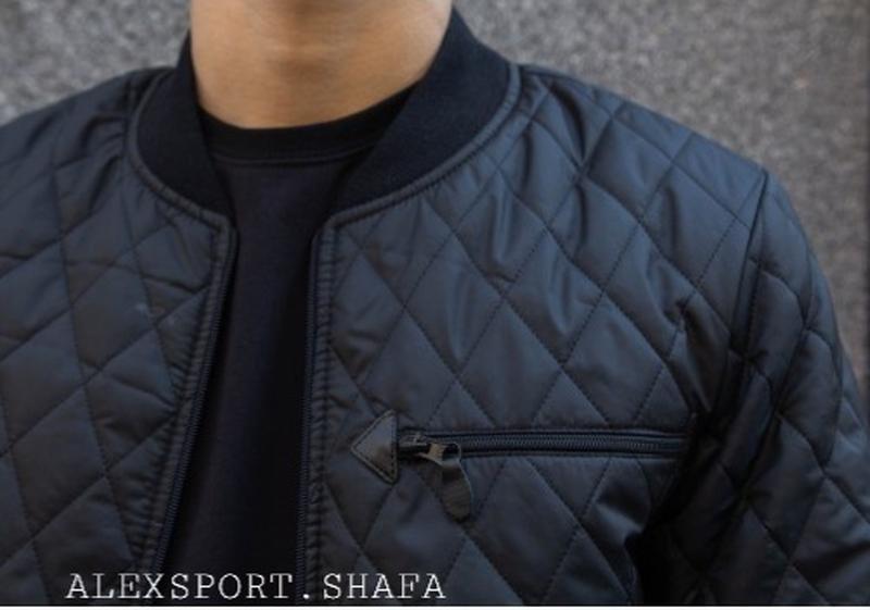 Бомбер куртка ветровка мужская демисезонная куртка весна осень - Фото 3