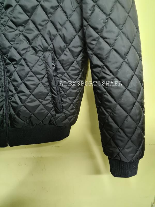 Бомбер куртка ветровка мужская демисезонная куртка весна осень - Фото 5