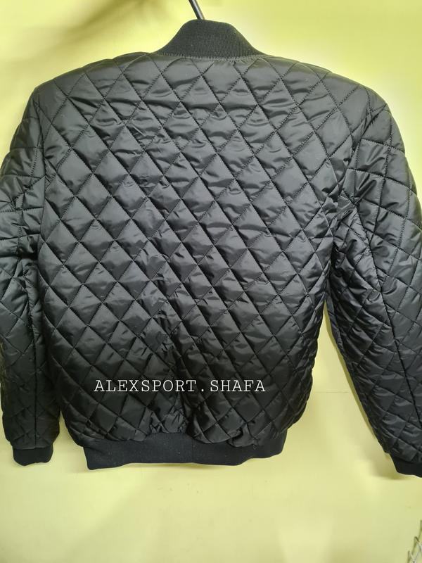 Бомбер куртка ветровка мужская демисезонная куртка весна осень - Фото 6