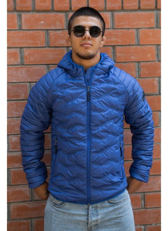 Куртка мужская демисезонная куртка весна осень большие размеры... - Фото 4
