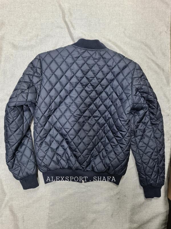 Куртка бомбер мужская демисезонная куртка весна осень - Фото 3