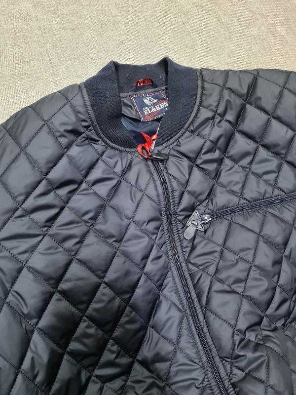Куртка бомбер мужская демисезонная куртка весна осень - Фото 7