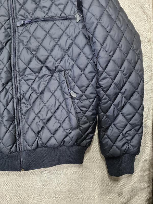 Куртка бомбер мужская демисезонная куртка весна осень - Фото 8