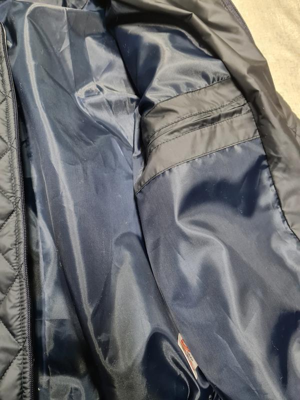 Куртка бомбер мужская демисезонная куртка весна осень - Фото 9
