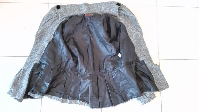 Элегантное короткое пальто корея - Фото 10