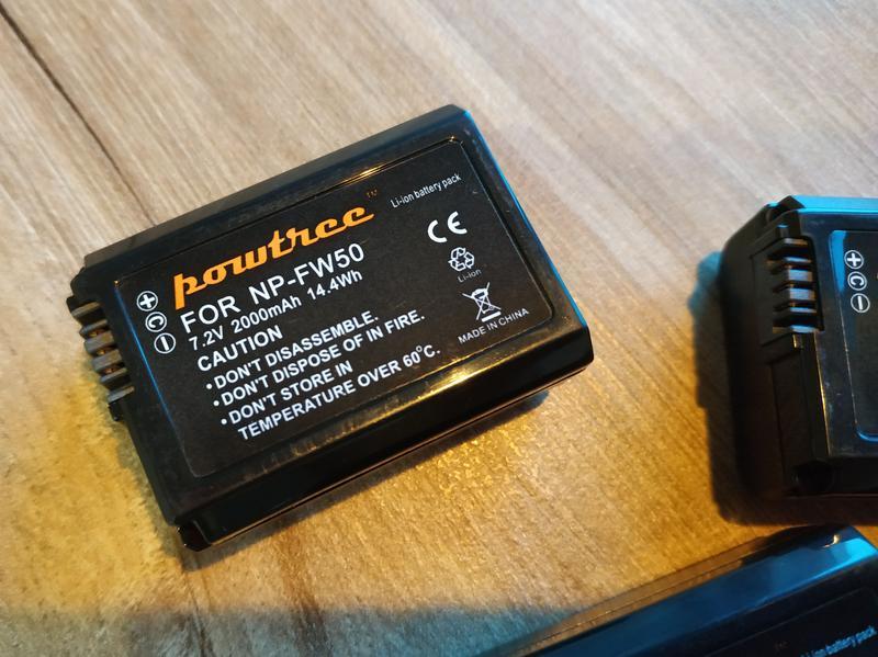 Аккумулятор батарея Sony NP-FW50 NEX Alpha A6300 A7 (R, II) Cyber - Фото 6