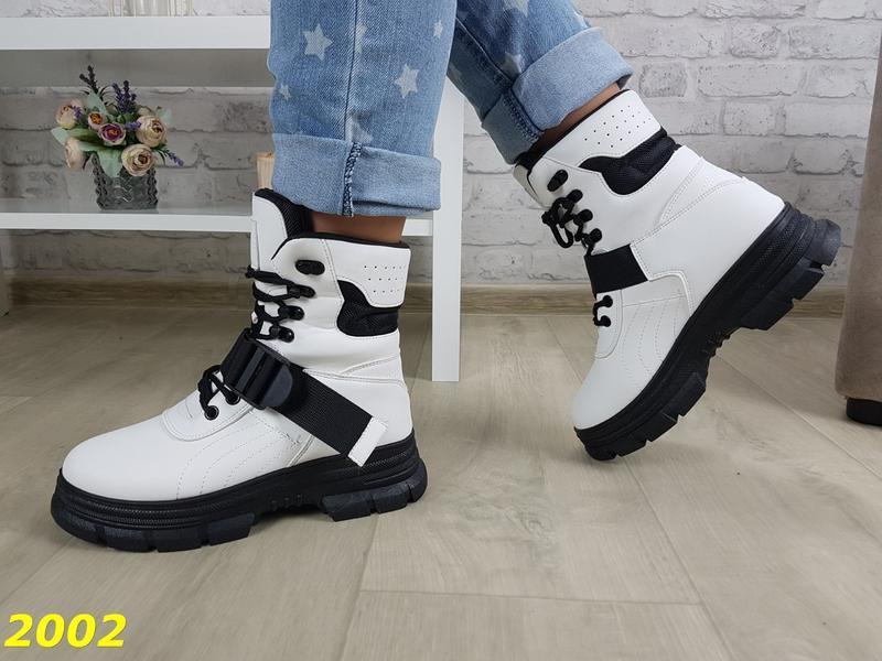 Ботинки зимние женские - Фото 4