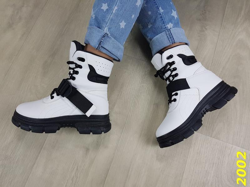 Ботинки зимние женские - Фото 8