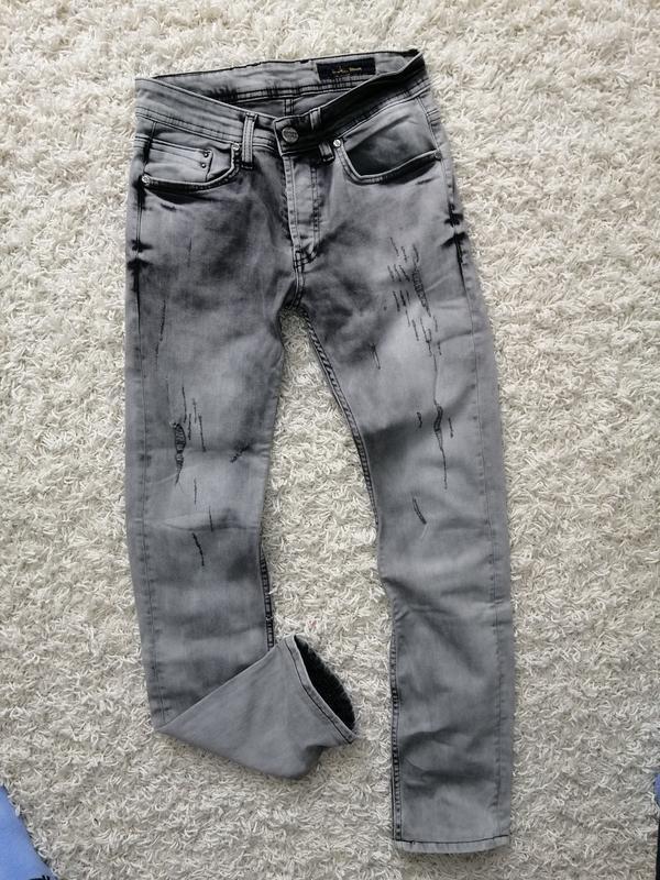 Стильные мужские джинсы sako 29/34 в прекрасном состоянии