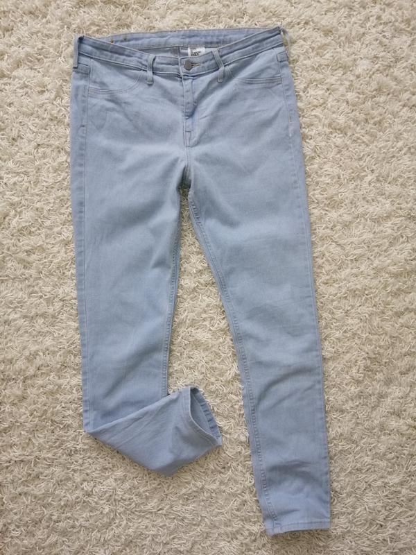Стильные женские джинсы скинни h&m 29 в прекрасном состоянии