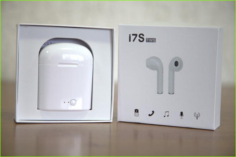 Наушники i7S TWS Bluetooth беспроводные (ПОДХОДЯТ ДЛЯ ЛЮБЫХ ТЕ... - Фото 3