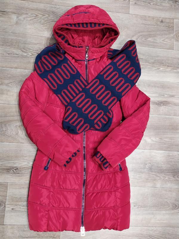 Зимнее пальто очень тёплое