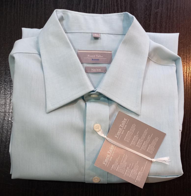 Рубашка с длинным рукавом мужская c&a