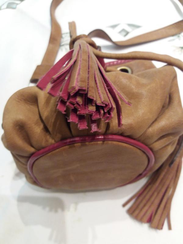 Мини сумочка мешок