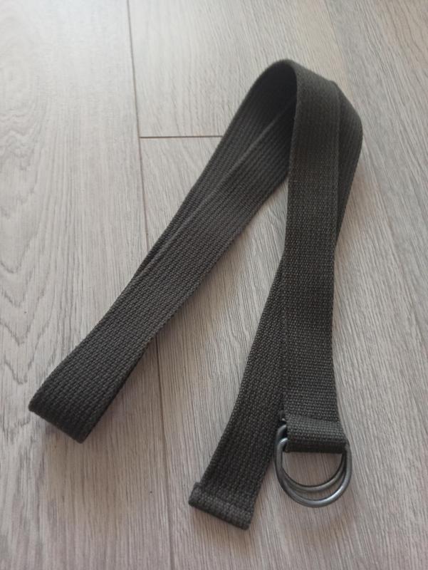 Качественный пояс из стропы в стиле милитари
