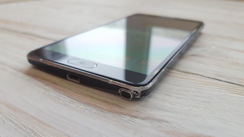 Смартфон Samsung Galaxy NOTE 4 32 Gb Оригинал N910V-BLACK - Фото 8