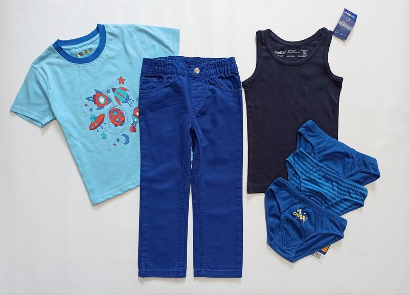 Лот одягу для хлопчика