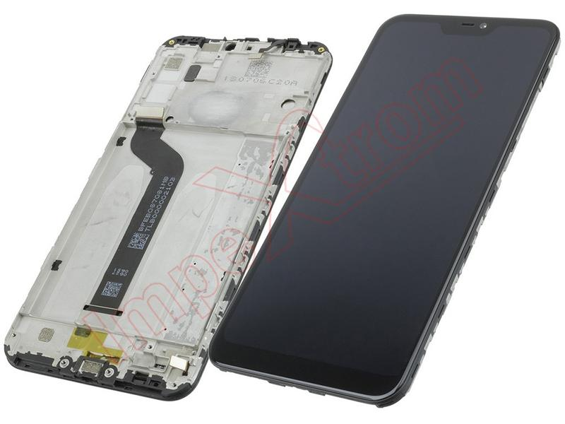Дисплей Xiaomi Mi A2 Lite, Redmi 6 Pro blackcomplete with frame