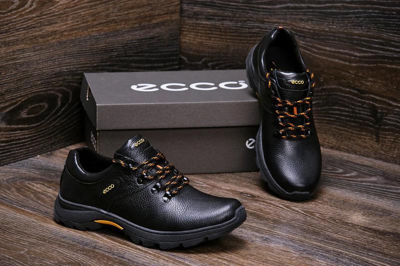 Мужские кожаные кроссовки  E-series Tracking - Фото 9