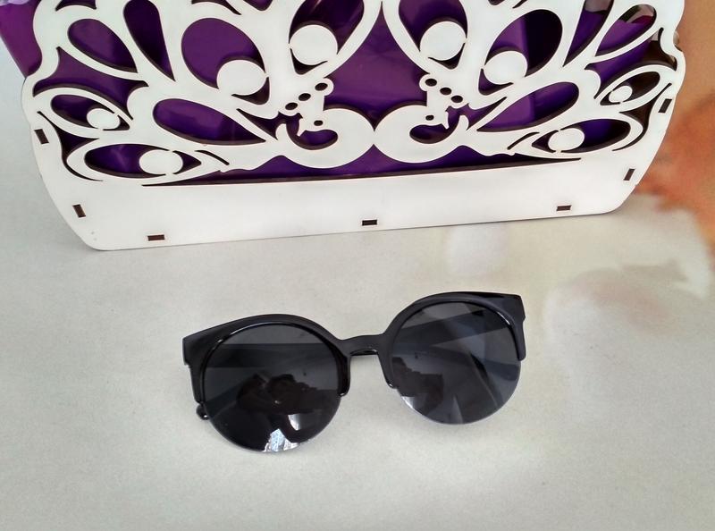 Сat eye 😎 солнцезащитные очки круглые,кошачий глаз, кошки.