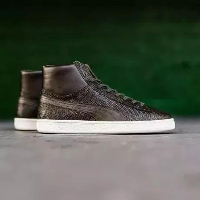 Ботинки кожаные  puma states mii made in italy оригинал из сша - Фото 2