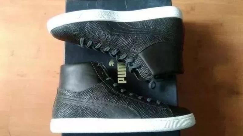 Ботинки кожаные  puma states mii made in italy оригинал из сша - Фото 3