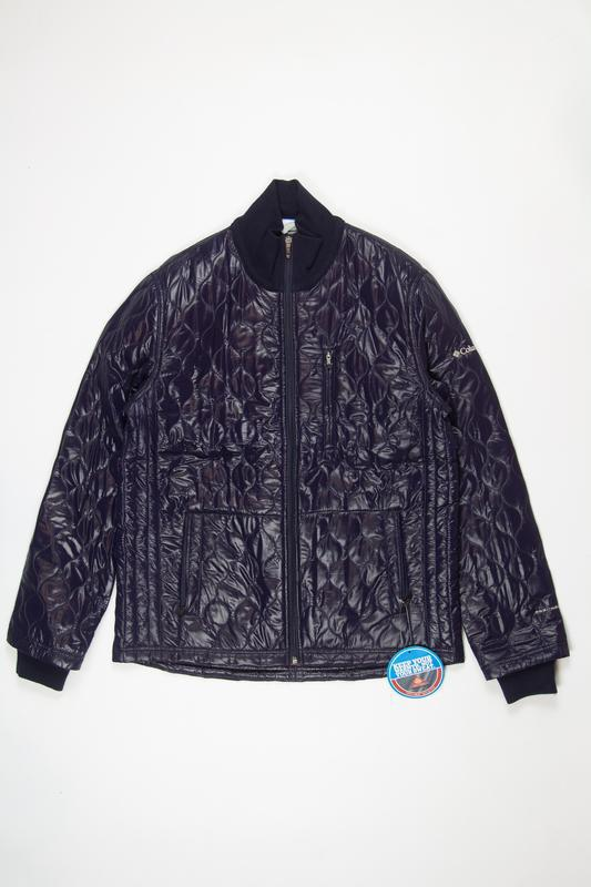 Синяя мужская куртка, columbia