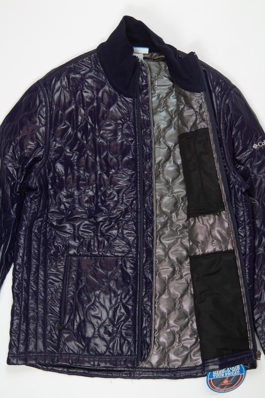 Синяя мужская куртка, columbia - Фото 4