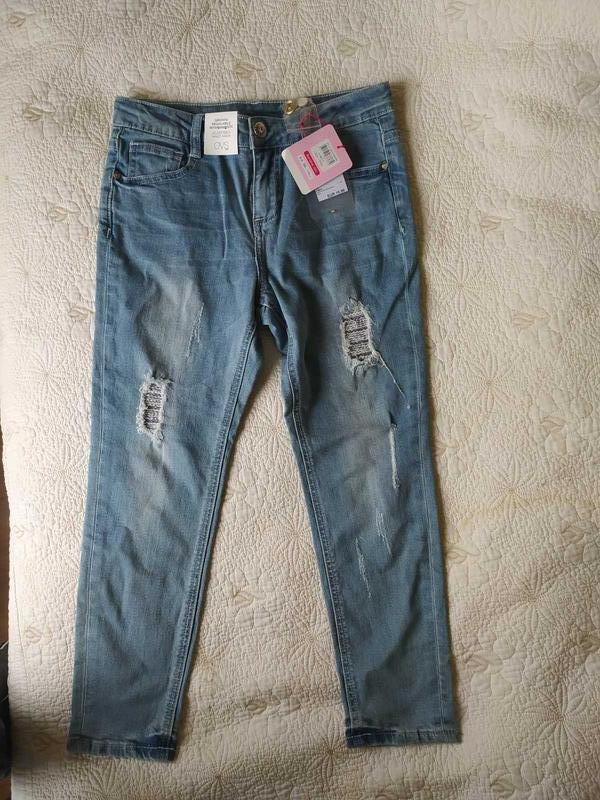 Очень красивые, стильные джинсы ovs италия оригинал 8-9 лет