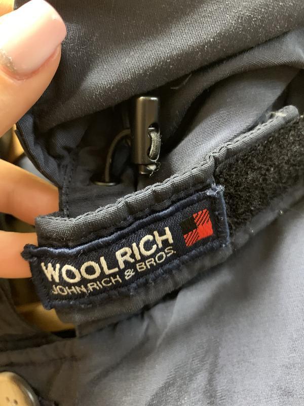 Пуховик куртка woolrich arctic anorak - Фото 2