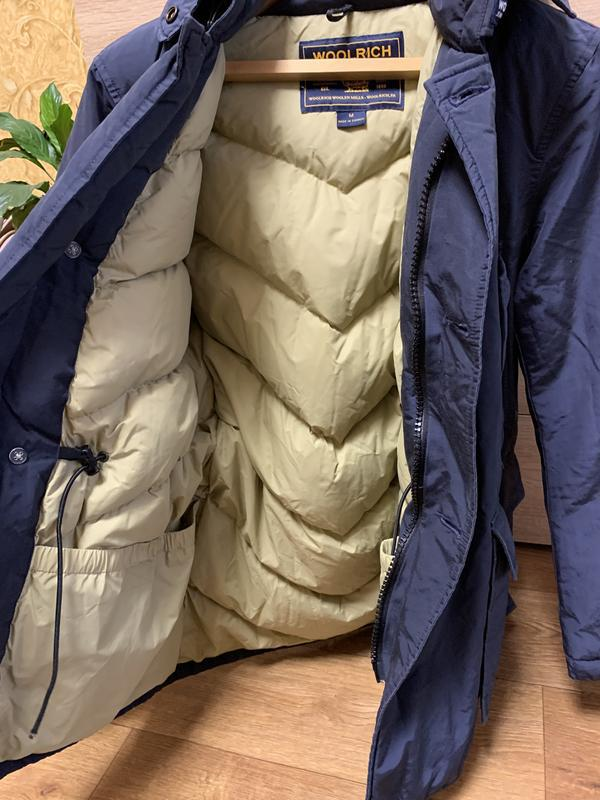 Пуховик куртка woolrich arctic anorak - Фото 3