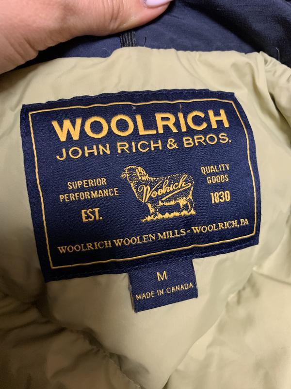 Пуховик куртка woolrich arctic anorak - Фото 8