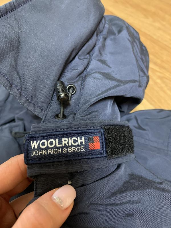 Пуховик куртка woolrich arctic anorak - Фото 10