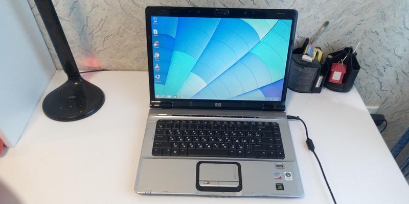 Красивый Ноутбук HP pavilion dv 6700 в рабочем состоянии