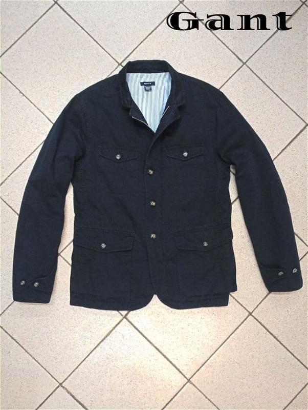 Мужская куртка пиджак блейзер gant