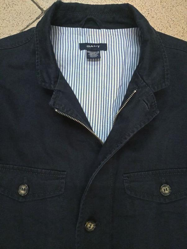 Мужская куртка пиджак блейзер gant - Фото 3